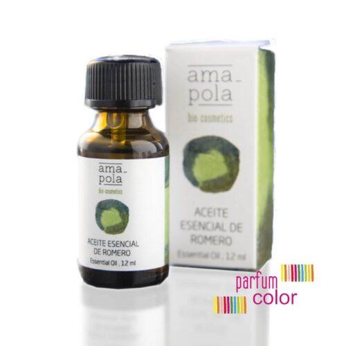 Amapola Bio·Cosmetics, Aceite Esencial de Romero 12 ml.