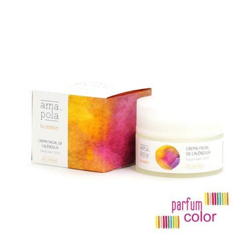 Amapola Bio·Cosmetics, Crema Facial de Caléndula 50 ml.