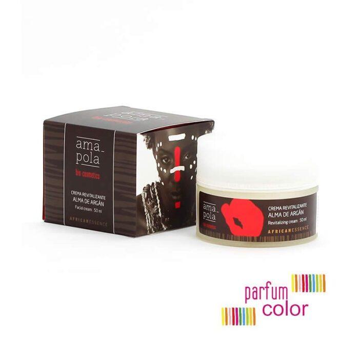 Amapola Bio·Cosmetics, Crema Revitalizante Alma Argán 50 ml.